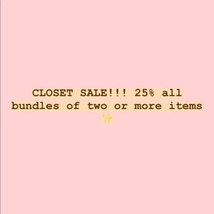 Other - BUNDLE TO SAVE!! OFFERS WELCOME!